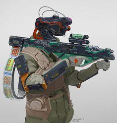 bassman5911:  Branded soldier. by drednorzt