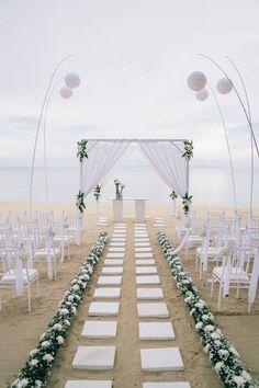 The set up at our wedding. The Westin Nusa Dua resort Bali 11.4.2015