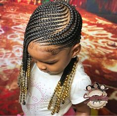 Kids Hairstyles Girls Hairstyles Braids Hair Styles I Love This With Images Braids For Kids . Little Girl Braid Hairstyles, Black Kids Hairstyles, Little Girl Braids, Natural Hairstyles For Kids, Black Girl Braids, Kids Braided Hairstyles, African Braids Hairstyles, My Hairstyle, Girls Braids