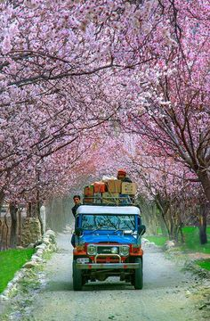 Skardu in Spring, Pakistan