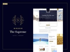 The Supreme - Luxury Hotel HTML5 & CSS3 Template