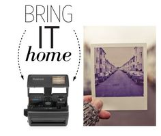 """""""Bring It Home: Impossible Polaroid 600 Square Camera"""" by polyvore-editorial ❤ liked on Polyvore featuring interior, interiors, interior design, home, home decor, interior decorating, Impossible and bringithome"""