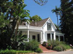 Stow House, Goleta, Santa Barbara California