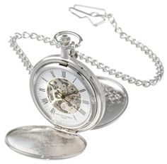 CharlesHubert Paris Mechanical Pocket Watch -- To view further for this item, visit the image link.