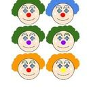 12 different clown faces to be printed and cut up to make cards. Each clown is quite similar, so good for 'spot the difference', grouping, colour a...