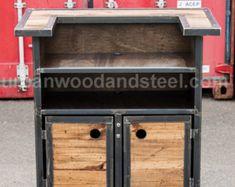 Iron Horse Server & Sales Station by urbanwoodandsteel on Etsy