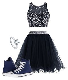 """""""Sem título #611"""" by leonettaforever-872 ❤ liked on Polyvore featuring Converse and BERRICLE"""
