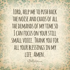 Lord, help me take time to focus on You     https://www.facebook.com/photo.php?fbid=591106974253955