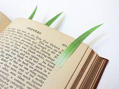 Punt de llibre vegetal
