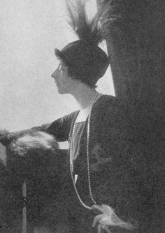 BARON DE MEYER Mrs. Conde Nast