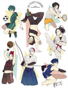 #MyHeroAcademia #Dessin #Fanart chii_maru12 #Anime #Manga