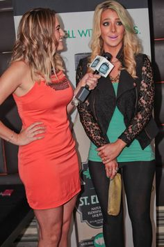 Dirty Water TV Reporter Amanda Hittinger interviewed YouTube Sensation Jenna Marbles at the Greatest Bar on Friday!