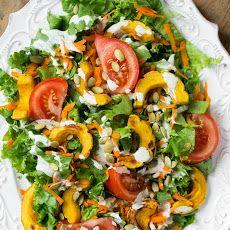 Ultra Creamy Hemp Salad Dressing   Salad Recipe ….1/2 cup seeds (hulled hemp) 1/2 cup water 2 tbsps nutritional yeast 2 tbsps fresh lemon juice 1 clove garlic (peeled) 1/3 tsp sea salt (fine grain, to taste)