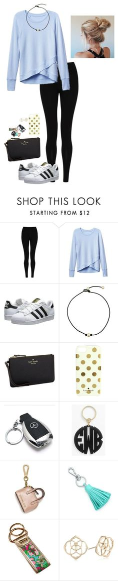 """""""Hey! RTD!!"""" by penguinfan911 ❤ liked on Polyvore featuring M&S Collection, Athleta, adidas Originals, Kate Spade, Mercedes-Benz, Moon and Lola, MICHAEL Michael Kors, Tiffany & Co., Lilly Pulitzer and Kendra Scott"""