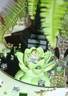 Princess and the Frog Centerpiece - Frog upclose