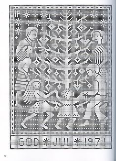 Gallery.ru / Фото #33 - рождество - EditRR Russian Cross Stitch, Xmas Cross Stitch, Cross Stitch Alphabet, Cross Stitch Charts, Cross Stitch Designs, Cross Stitching, Cross Stitch Embroidery, Cross Stitch Patterns, Nordic Christmas