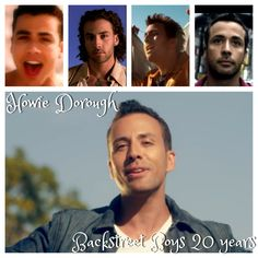 Howie Dorough Backstreet Boys celebrating 20th anniversary!