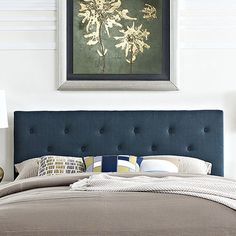 Found it at Wayfair - Terisa Polyester Upholstered Headboard