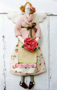 Tilda Garden Angel by TildaTime on Etsy