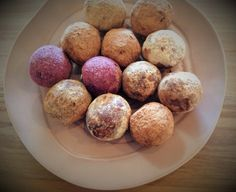 Blissful Balls! Rich In Protein, Snacks For Work, Superfoods, Sugar Free, Balls, Coconut, Lunch, Vegan, Vegetables