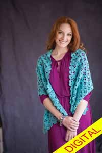 Capri #Wrap Digital #Crochet Pattern from Love of Crochet magazine, Spring 2015