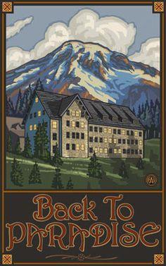 Mount Rainier National Park Paradise Inn