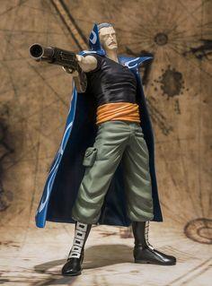 Figura One Piece. Benn Beckman. Figuarts Zero 16cm Figura de 16cm, fabricada en plástico PVC, de Benn Beckman, personaje del manga-anime One Piece.