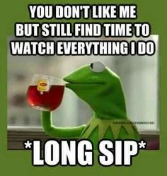 New Memes Funny Kermit True Stories Ideas Stalker Meme, Stalker Quotes, Memes Shrek, Funny Kermit Memes, I Dont Like You, Don't Like Me, Just For You, Kermit The Frog, Just For Laughs
