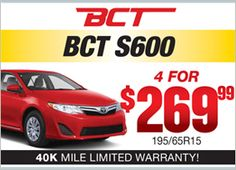 BCT S600 - 4 for $269.99