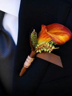 Boutonniere for groom
