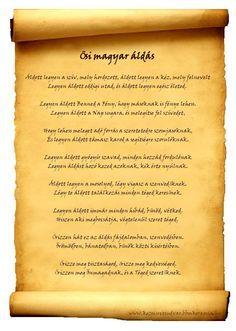 Ősi magyar áldás