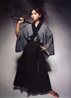 中川翔子 / Shoko Nakagawa as Samurai girl