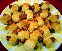 Mini Pigs-In-A-Blanket