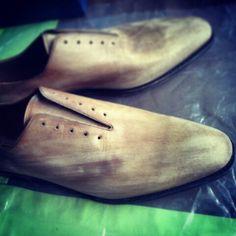 #yanko #patina #patine #saphir #patyna #patynowanie #patynacja #pracujacydlugiweekend ;) #shoes #shoeshine #style #stylish #gentleman #gentlemen #mensshoes #menswear #oxford #fashion #swag @patine.pl