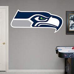 Seattle Seahawks Logo Fathead Wall Decal