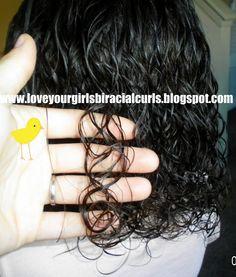 Curly Hairdo Ideas:  ~ Love Your Girls Biracial Curls!
