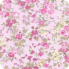 Tissu Tatum rose