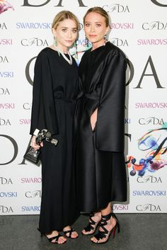 Mary Kate and Ashley at the 2014 CFDA Fashion Awards