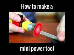 How to make a mini power tool https://www.facebook.com/UNILADTech/videos/1708974036046977/