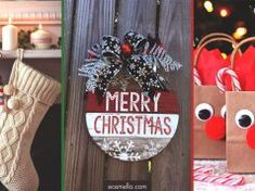 35 Adorable Christmas Craft Ideas That Bring The Holiday Spirit Into Your House Cork Christmas Trees, Christmas Crafts, Christmas Decorations, Christmas Things, Holiday Decor, Christmas Ideas, Lob Haircut, Chic Haircut, Haircut Short
