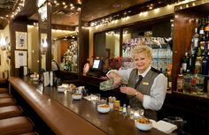 Toronto's only train themed bar catering to commuters? That's very specific.