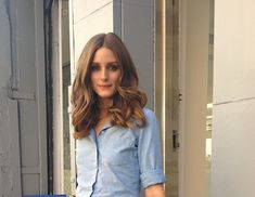Olivia Palermo hair. No visible layers, past shoulder length. Perfect!