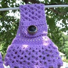 Crocheted coaster and FREE PATTERN for towel topper, NEW customers ...