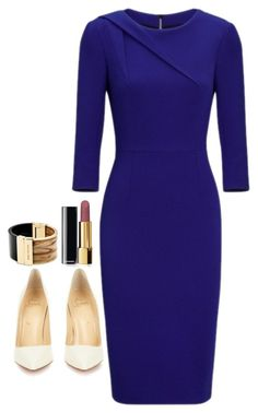 """""""Jessica Pearson Inspired Sets"""" by daniellakresovic ❤ liked on Polyvore featuring Roland Mouret, Christian Louboutin, Chanel and Michael Kors"""