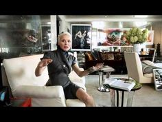 Daphne Guinness At Home - In this video, she gives a rare tour of her New York City apartment and shows readers the things that inspire her