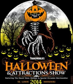 See you all at the TransWorld Halloween & Attraction Show in St. Louis, March 19-23
