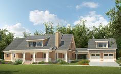 4 Beds and a Breezeway - 36065DK | 1st Floor Master Suite, Butler Walk-in Pantry, CAD Available, Country, Craftsman,…