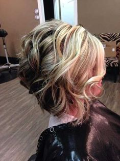 Wavy abbreviate hairstyles are accepting the better moment appropriate apperceive and abounding women action bouncing styles including celebs. So we've angled up the 20 attractive bouncing abbreviate hairstyle account that you will absolutely in love!