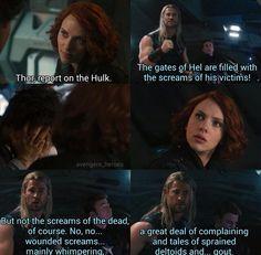 Stop talking Thor