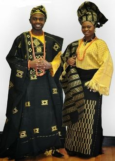 Beautiful Wedding Aso Oke for Couple - Nigeria aso Oke